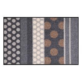 Fußmatte Salonloewe Glamour Dots grau
