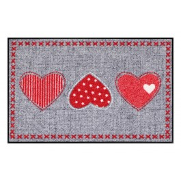 Fußmatte Salonloewe Heart Application