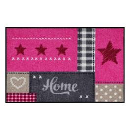Fußmatte Salonloewe Home Star Pink XL