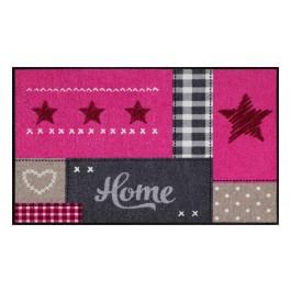 Fußmatte Salonloewe Home Star Pink
