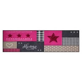 Fußmatte Salonloewe Home Star Pink XXL