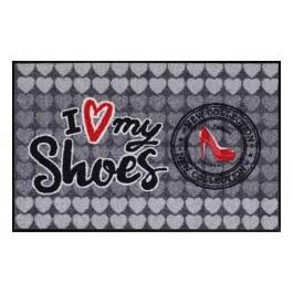 Fußmatte Salonloewe I love my shoes
