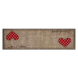 Fußmatte Salonloewe Design Lauras Herzen XXL