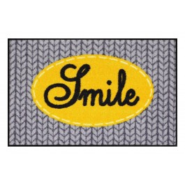 Fußmatte Salonloewe Smile yellow