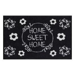 Fußmatte Salonloewe Sweet home black&white