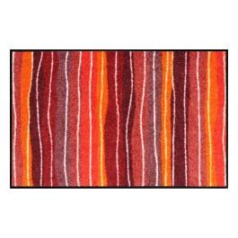 Fußmatte Salonloewe Wavy Lines Red