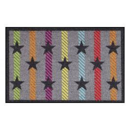 Fußmatte Salonloewe Design Stars on Stripes 50 cm x 75 cm