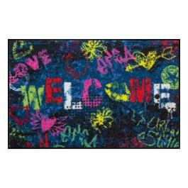 Fußmatte Salonloewe Design Streetart 50 cm x 75 cm
