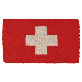 Fußmatte Swiss Cross