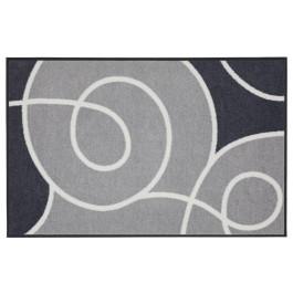 Fußmatte Salonloewe Design Swoop Grau XXL