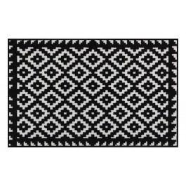 Fußmatte Salonloewe Design Tabuk Black & White 50cm x 75cm