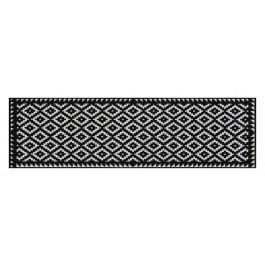 Fußmatte Salonloewe Design Tabuk Black & White 60cm x 180cm
