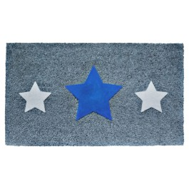 Fußmatte Triple Star Blue
