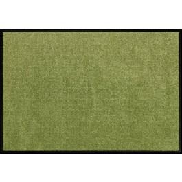 Fußmatte Salonloewe Uni olivgrün rechteckig