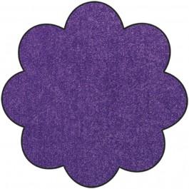 Fußmatte Salonloewe Uni pflaume Blume