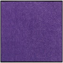 Fußmatte Salonloewe Uni pflaume quadratisch