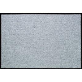 Fußmatte Salonloewe Uni silbergrau rechteckig
