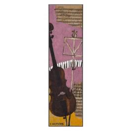Fußmatte Salonloewe Wachtmeister Lifestyle Violincello XXL
