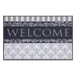 Fußmatte Salonloewe Design Welcome Lilien