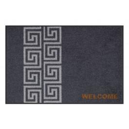 Fußmatte Salonloewe Design Welcome Meander