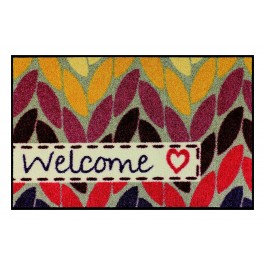 Fußmatte Salonloewe Design Welcome with Love 50 cm x 75 cm