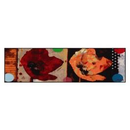 Fußmatte Salonloewe Design Anna's Mohn 60cm x 180cm