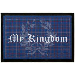 Fußmatte Lako High Print My Kingdom blau
