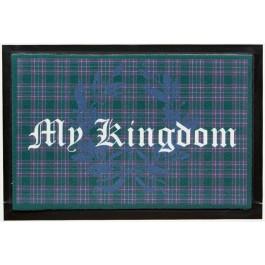 Fußmatte Lako High Print My Kingdom grün