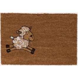 Kokosfußmatte Lako Cocoflock Schaf