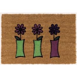 Kokosfußmatte Lako Cocoflock Blumen