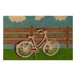 Kokosfußmatte Fahrrad