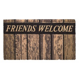 Kokosfußmatte Cocoprint Profilo Friends Welcome