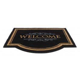 Kokosfußmatte Cuco Classic Welcome black