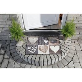 Fußmatte Salonloewe Design Alpenglück Herzen
