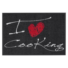 Fußmatte Salonloewe Design I Love Cooking Heart