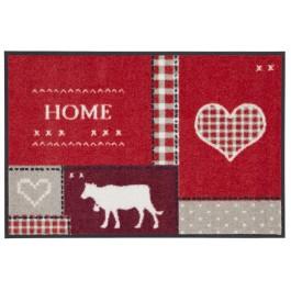 Fußmatte Salonloewe Design Country Home Red