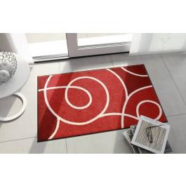 Fußmatte Salonloewe Design Swoop Rot
