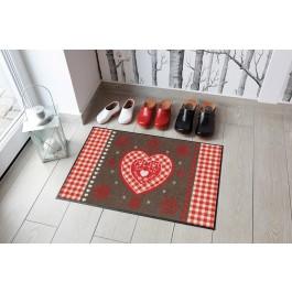 """Fußmatte Salonloewe Design """"Weihnachtsherz"""""""