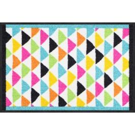Fußmatte Color Triangles bunt