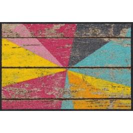 Fußmatte Graphic Wood