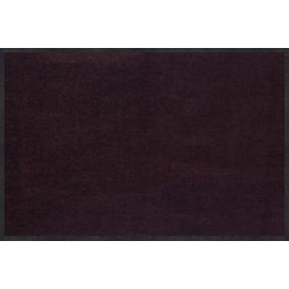 Fußmatte Salonloewe Uni pflaume rechteckig  40 cm x 60 cm