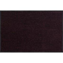 Fußmatte Salonloewe Uni pflaume rechteckig 50 cm x 75 cm