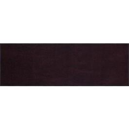 Fußmatte Salonloewe Uni pflaume rechteckig 60 cm x 180 cm