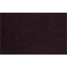 Fußmatte Salonloewe Uni pflaume rechteckig 75 cm x 120 cm