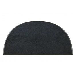 Fußmatte Salonloewe Uni Black Blue halbmond